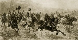 Mongol attack in India