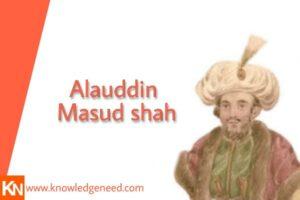 Alauddin Masud shah