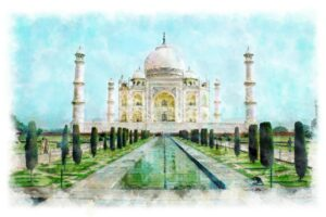 Monuments built by Mughals