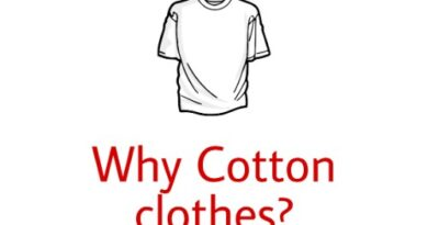 Why should we wear cotton clothes in summer