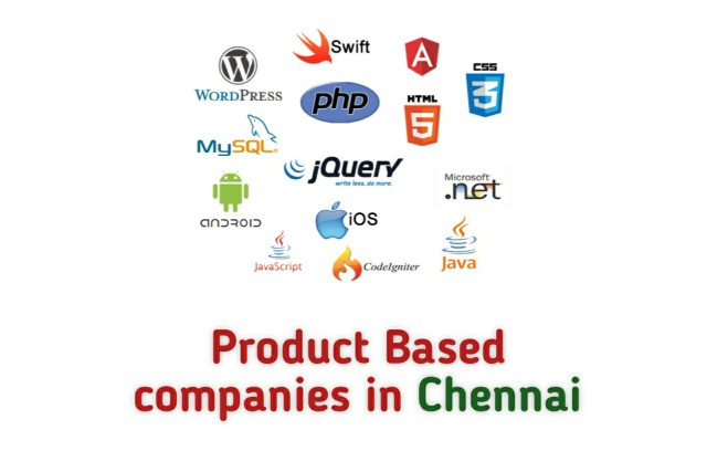 Product Based companies in Chennai