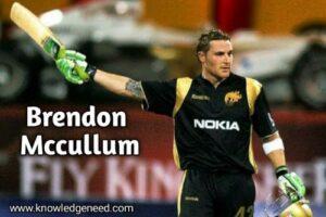 Brendon McCullum